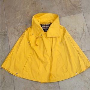 Burberry London Yellow Rain Cape